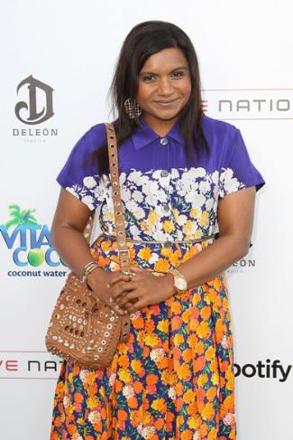 Mindy Kaling In Marc Jacobs – Guy Osearys July 4th Event