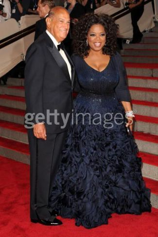 Oprah Winfrey wore this Oscar de la Renta Custom-made gown to the 2010 Costume Institute Gala