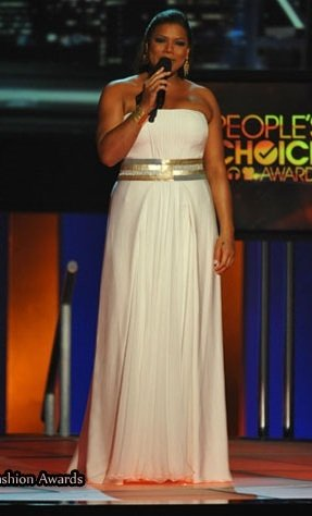Queen Latifah and Georges Chakra Spring 2010 Gown