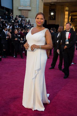 Queen Latifah in Badgley Mischka at the 85th Academy Awards