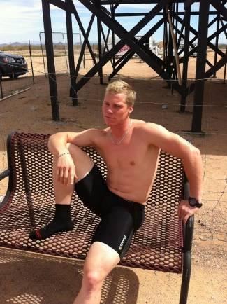 Sam Willoughby shirtless bmx rider