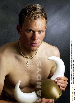 Thor Hushovd shirtless