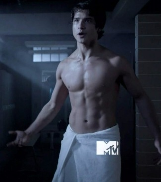 Tyler Posey young guys with washboard abs