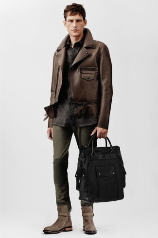 belstaff 2014 leather jacket for guys
