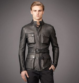 how much is a belstaff leather jacket hannington most expensive at 5750 dollars