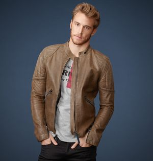 belstaff peerless leather jacket for men