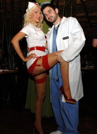 celebrity halloween costumes - naughtynurse - christina aguilera