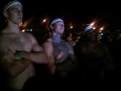 cody zeller shirtless - freshman initiation