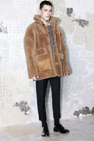 fur coats for men 2013-2014 - acne studios