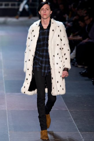 fur coats for men 2013-2014 - fall winter collection