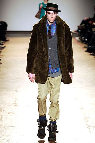 fur coats for men - marc by marc jacobs collection