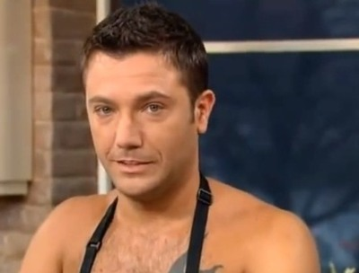 gino d acampo - this morning chef - shirtless