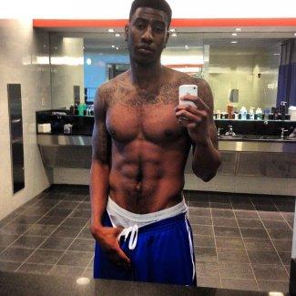 iman shumpert shirtless underwear photos - ny knicks