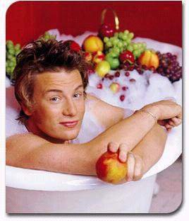 jamie oliver shirtless chef