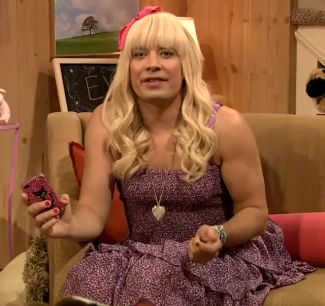 jimmy fallon as sara from nickelodeon