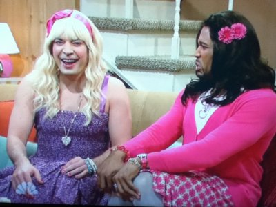 jimmy fallon crossdressing