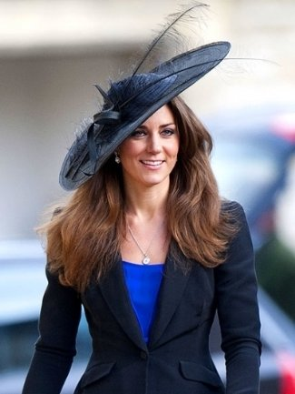 kate middleton hats - philip somerville aurora picture hat
