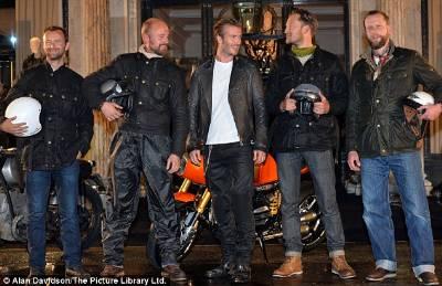 male bikers wearing belstaff jackets