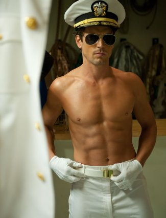 matt bomer shirtless sailor magic man
