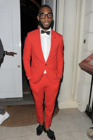 mens christian louboutin shoes - Tinie Tempah wore black tasselissimo loafers