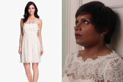 mindy kaling xscape cocktail dress