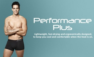 mitchell johnson models jockey performance underwear