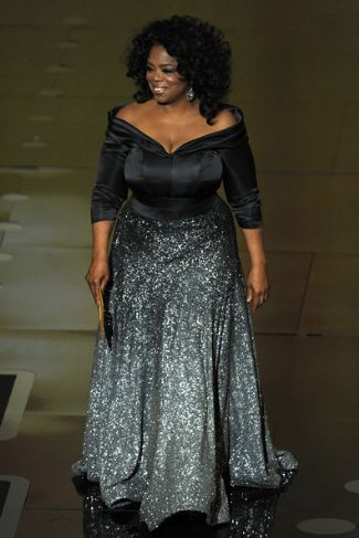oprah winfrey plus size dress by zac posen