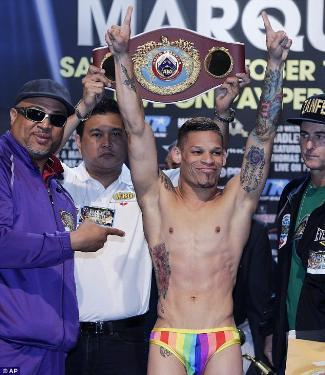orlando cruz weigh-in underwear photos - boxing