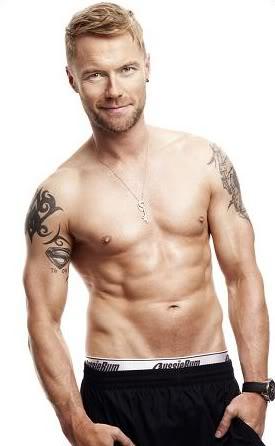 ronan keating shirtless underwear