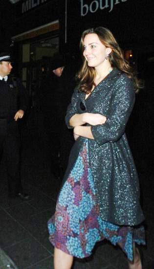 royal fashion watch - kate middleton - Zara Basic Two Button Coat