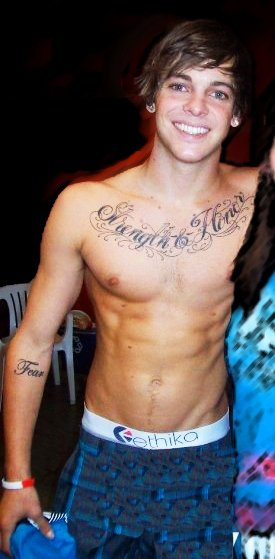 young guys with washboard abs ryan sheckler
