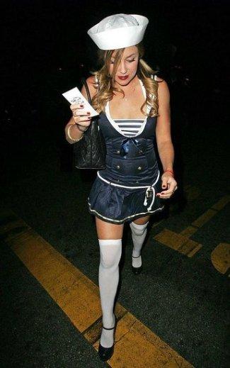 sailor halloween costume for girls - lauren conrad