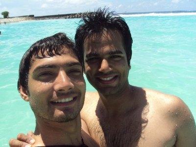 shirtless badminton players - KASHIF SULEHRI of pakistan