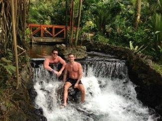 thomas roberts gay husband patrick abner - costa rica vacation