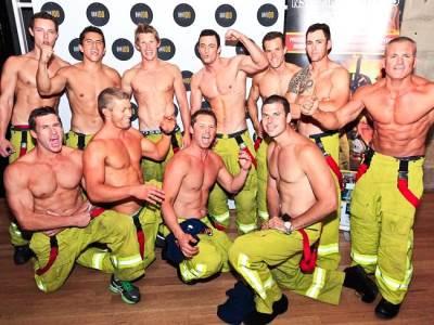 2014 NSW Firefighters Calendar - australian hunks
