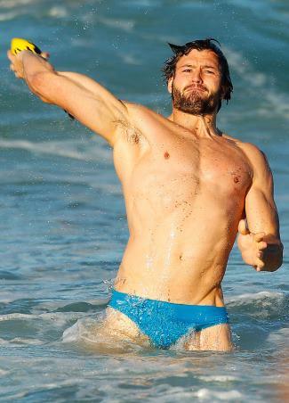 Adam Ashley-Cooper speedo - nsw waratahs shirtless