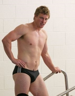 melbourne storm speedos Brett Finch by scott barbour