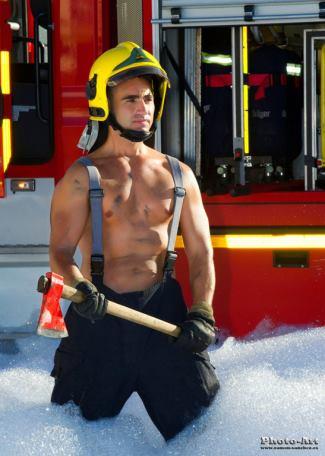Calendario Bomberos de Valdepeñas 2014 - spanish firefighter calendar 2014 y ramon sanchez