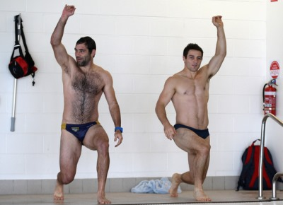 Cameron Smith and Cooper Cronk speedo - melbourne storm