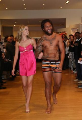 Manu Vatuvei in bendon underwear 2013 pic by Norrie Montgomery