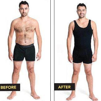 Waist Trimming Shirts for Men Bodysculpt All-In-One Shaper- 24usd