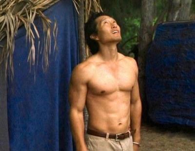 daddy hunks on tv daniel dae kim shirtless