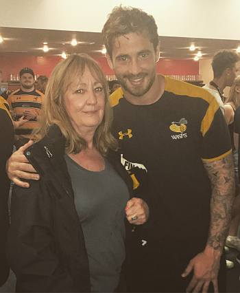 danny cipriani mother - parents