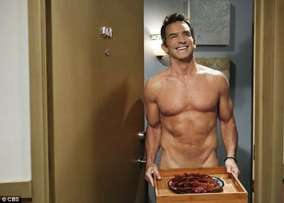 daddy hunks - jeff probst in two and a half men