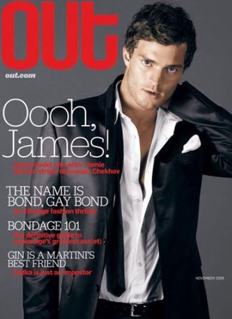 jamie dornan gay mag coverboy - out magazine