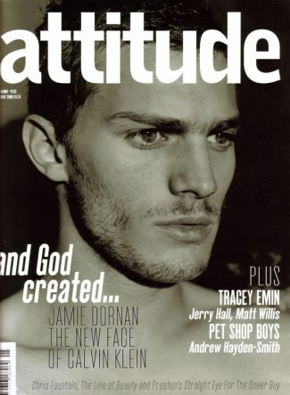 jamie dornan gay magazine coverboy - attitude