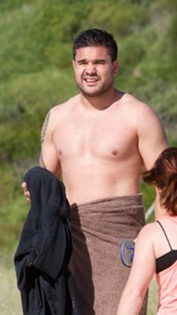 justin horo shirtless - still with parra eels
