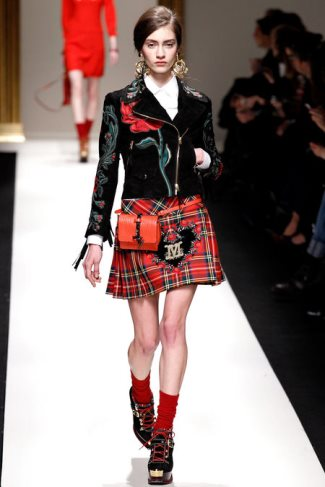 kilt for girls - Fall Winter 2013 2014 Ready-to-Wear by Moschino