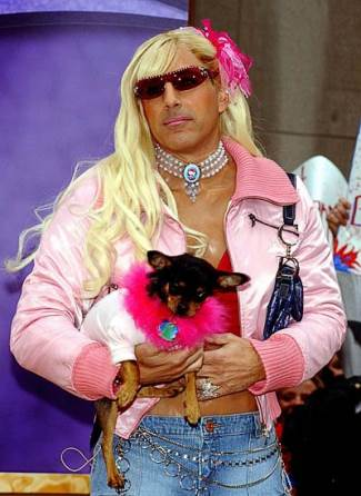 matt lauer as paris hilton - halloween 2011