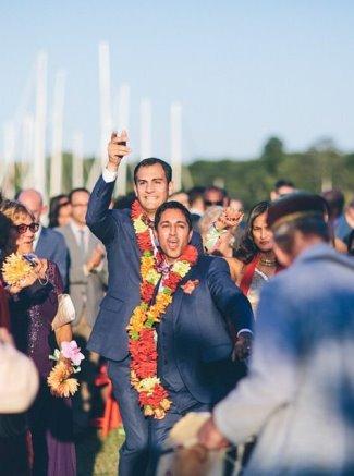 maulik pancholy ryan corvaia wedding photos